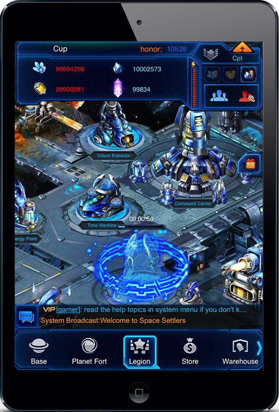 Space Settlers full screenshot